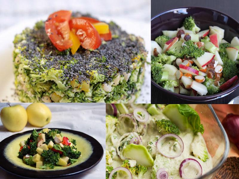 Салат из сырой брокколи: 6 лучших рецептов