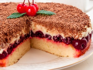 Изумительный творожный тортик