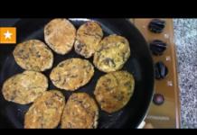 Котлеты из геркулеса, вегетарианский рецепт