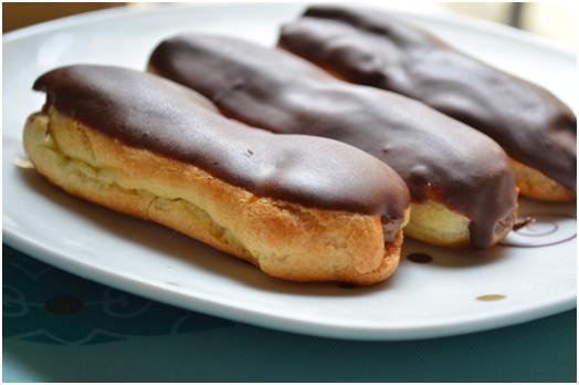 Пирожное Эклер видео рецепт