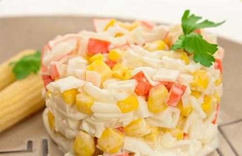Крабовый салат «Мой любимый»
