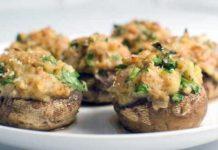 Перец фаршированный картофелем и овощами