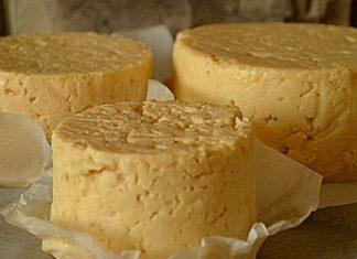 Вегетарианский сыр из гороха