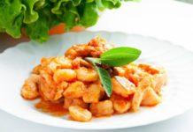 Пельмени вегетарианские — начинка с рисово-грибным фаршем