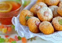 Вкусные хрустики с яблоками и орехами