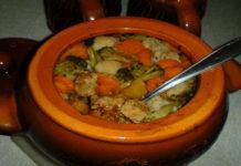 Каннеллони с тофу и овощами