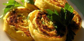 Алу патры (алупатры) — индийские картофельные рулетики
