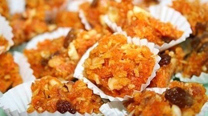 Морковная халва — полезный десерт!