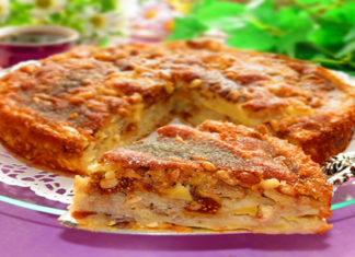 Яблочный торт родом из Сицилии